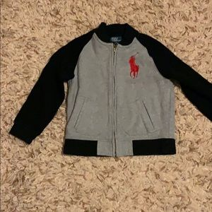 Ralph Lauren Polo zipper up sweatshirt Size 6